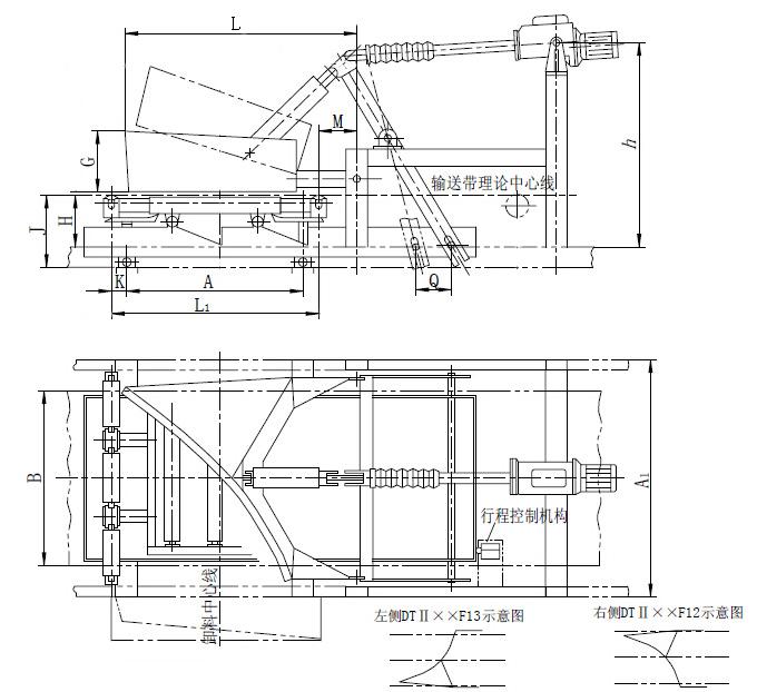 重型单侧犁式卸料器